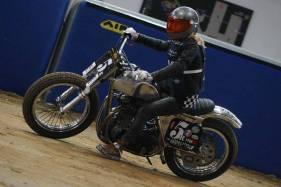 Flat Track Indoor - Vintage Racing Spirit - Ian Osborne 28