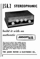 Jason Stereo Advert