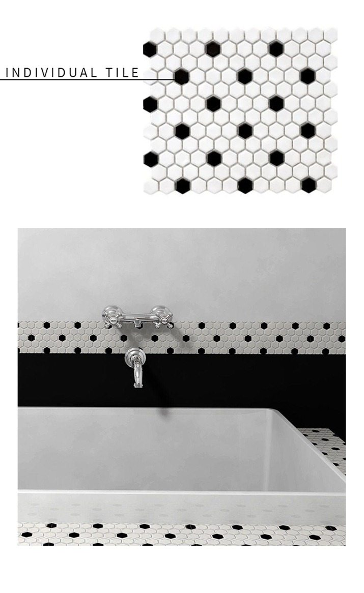 Black And White Tile Patterns
