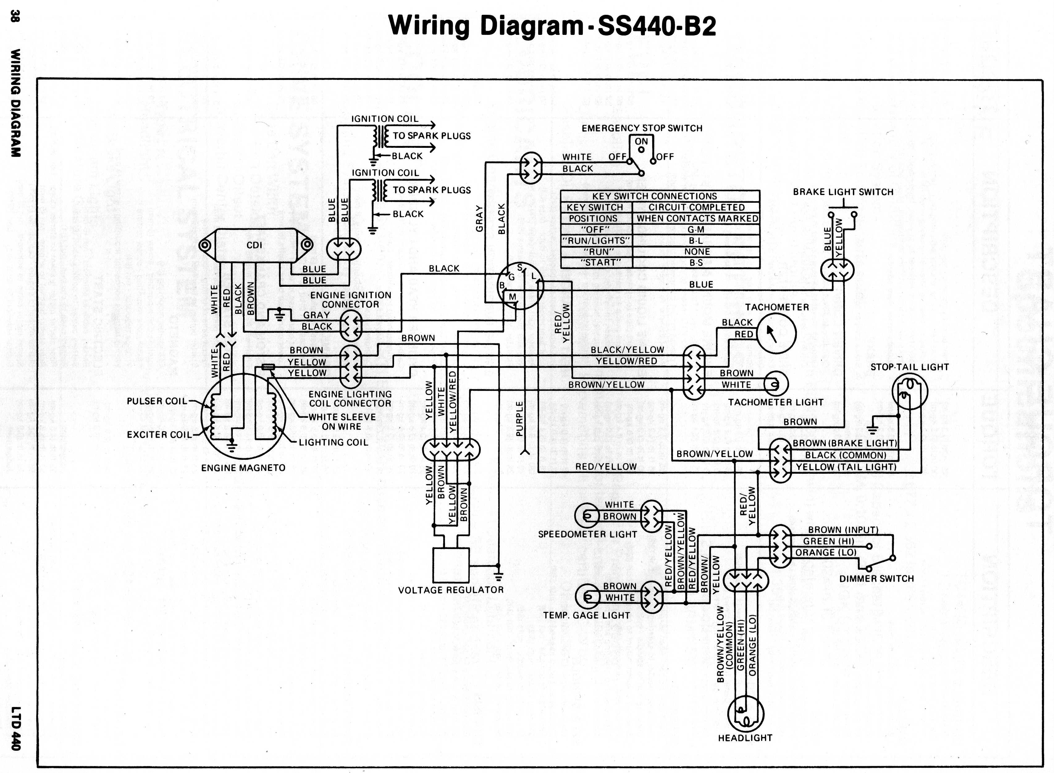 Polaris Jet Ski Wiring Diagram