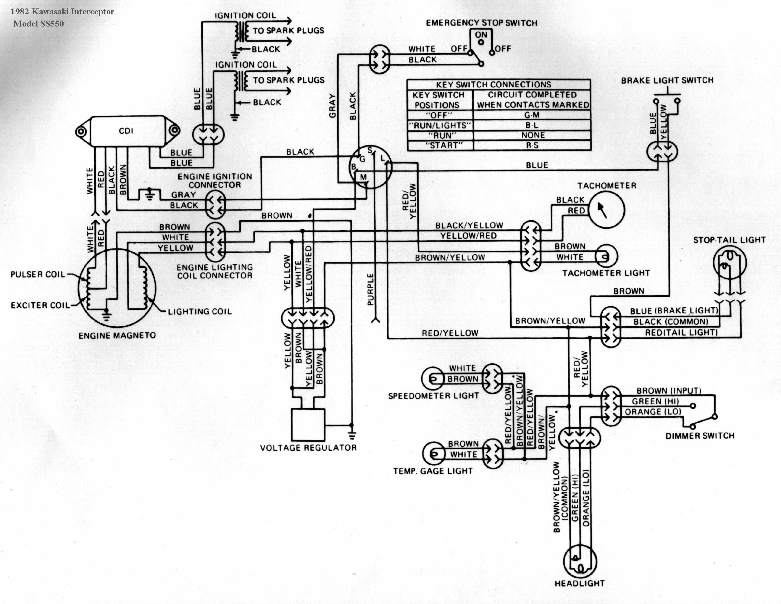 ski 550 wiring diagrams wiring diagram 1980 kz440 carburetor diagram kawasaki 440 wiring diagram #13