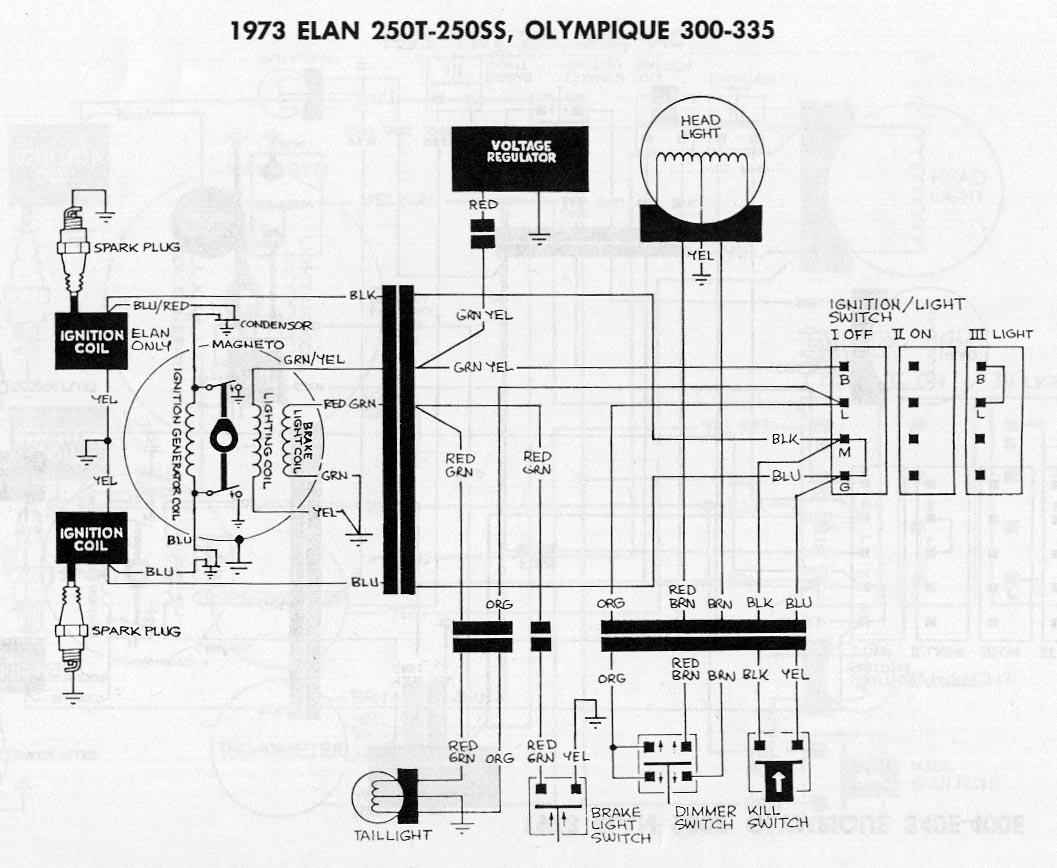 wiring diagram for 1973 arctic cat cheetah 440 snowmobile,diagram arctic cat  jag 340 1973