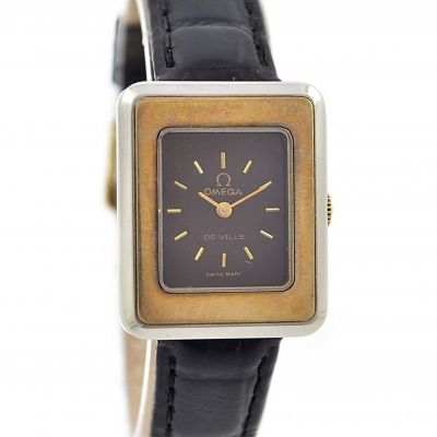 Omega De Ville Cal.625 18karat/Stainless Steel Hand Wind Ladies Watch
