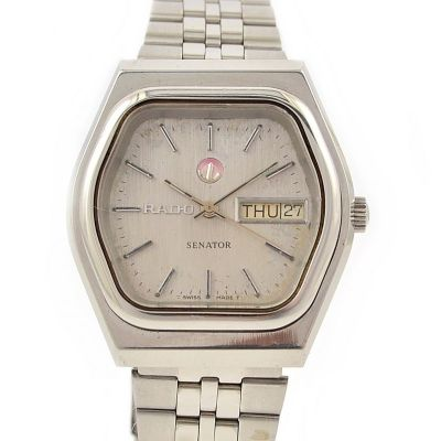 Pre-Owned Rado Senator Day/Date Automatic Men's Watch