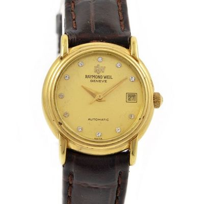 Pre-Owned Raymond Weil Geneve Date Automatic Ladies Watch 2611