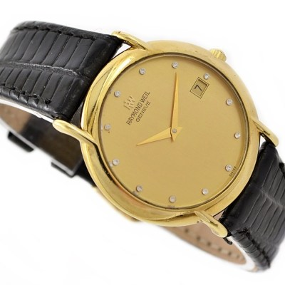 vintage retro raymond weil geneve watch