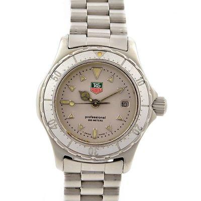 Tag Heuer 2000 Series WE1214-2 Stainless Steel Quartz Ladies Watch