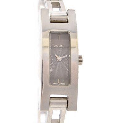 Vintage Gucci 3900L Stainless Steel Ladies Petite Quartz Watch
