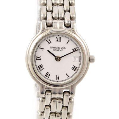 Pre-Owned Raymond Weil Geneve Date Quartz Ladies Watch 9948