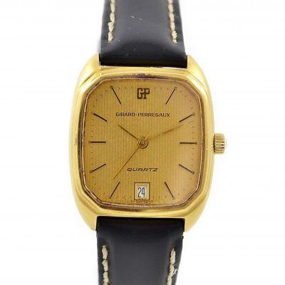 Vintage Girard Perregaux Gold Plated Quartz Ladies Watch