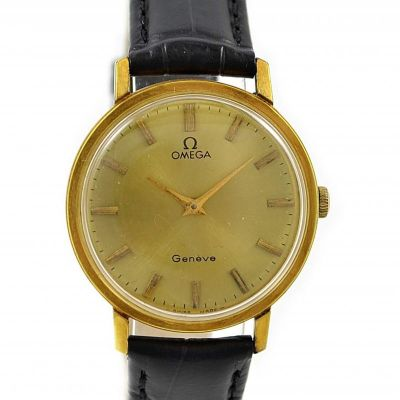 Omega Geneve Cal.625 Gold plated Hand Wind Midsize Watch