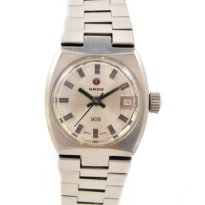 Rado 909 Date Stainless Steel Automatic Ladies Watch