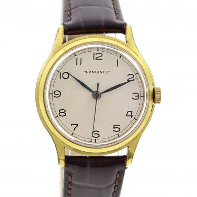 Pre-Owned Longines Manual Winding Men's Watch