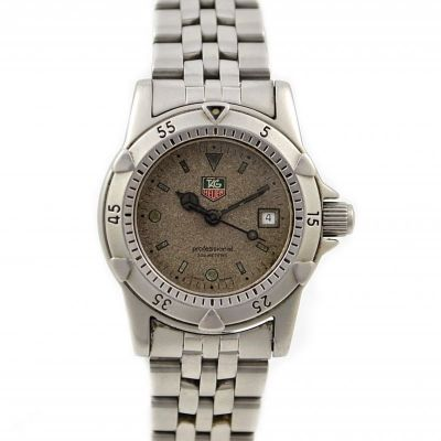 Pre-Owned and Collectible Tag Heuer 1500 Professional Exclusive Quartz Ladies Watch Model WD1411-P8