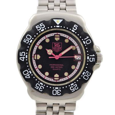 Vintage Tag Heuer F1 Quartz WA1217 Stainless Steel Midsize Watch