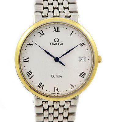 Vintage Omega De Ville Cal.1532 Quartz Midsize Dress Watch 1543