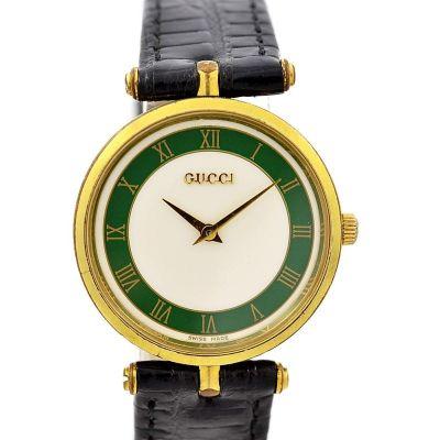 Vintage Gucci 2000M Gold Plated Midsize Quartz Watch