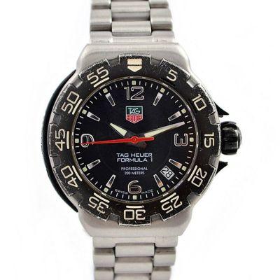 Vintage Tag Heuer F1 Professional WAC1210 Quartz Ladies Midsize Watch time