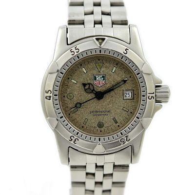 Pre-Owned and Collectible Tag Heuer 1500 Professional Exclusive Quartz Ladies Watch Model WD1411-PO
