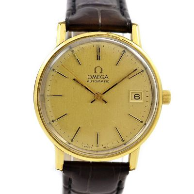 : Pre-Owned and Collectable Omega Seamaster Cal.1010 Automatic Mens Watch 17 jewels