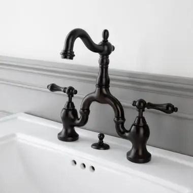 sink faucet bathroom bridge faucets