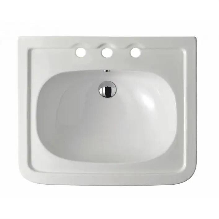 valeta 24 inch pedestal sink