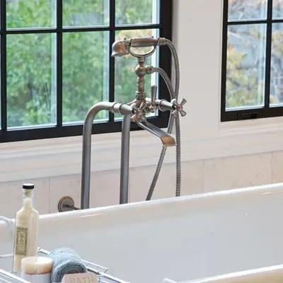 newport brass faucets vintage tub bath