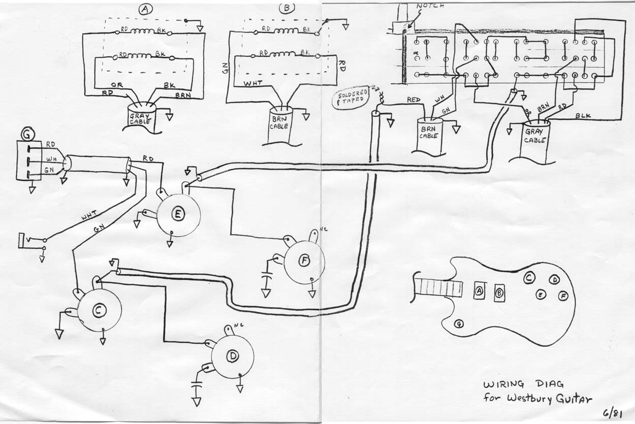 Ibanez 5 Way Guitar Switch Wiring Diagram