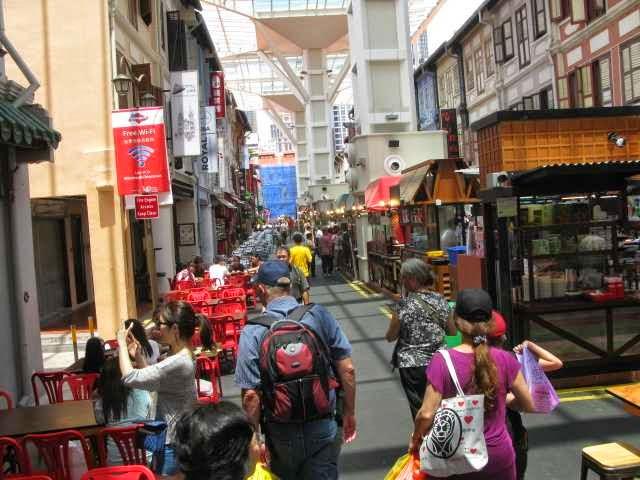 Eat Street in sanitised Chinatown