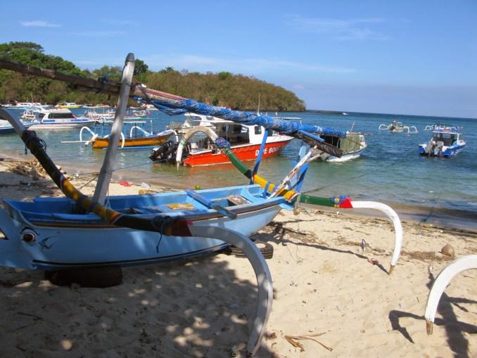 Boats at Padang Bai