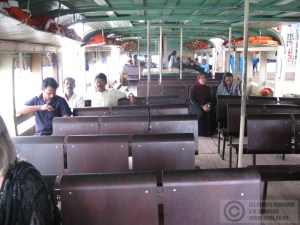 The ferry to Ernakulam