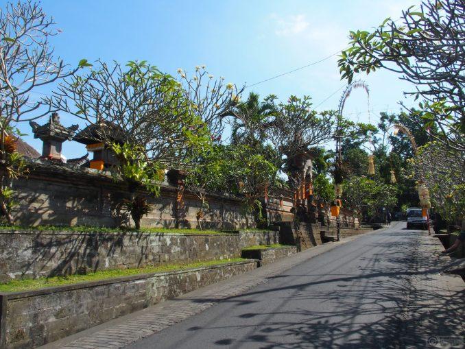 Nyuh Kuning's quiet main street