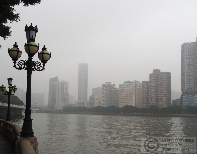 The Pearl River from Shamian