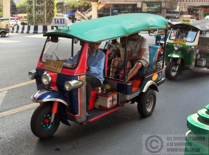Samlor or tuk-tuk - use at your peril
