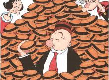 Wimpy Popeye Hamburger