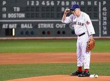 Warren Buffett baseball red sox