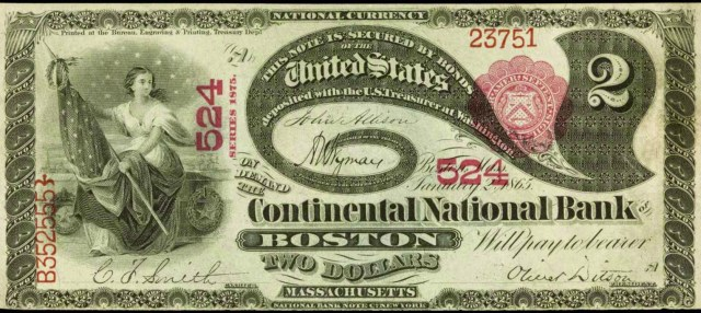 The Continental National Bank of Boston