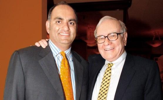 Mohnish Pabrai and Warren Buffett Photo - Vintage Value Investing