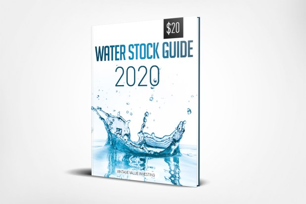 Water Stock Guide
