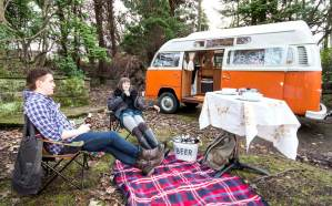 Camping with Lola the VW Campervan