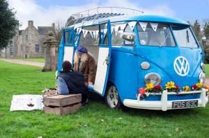 When Meg the VW Splittie went for a picnic