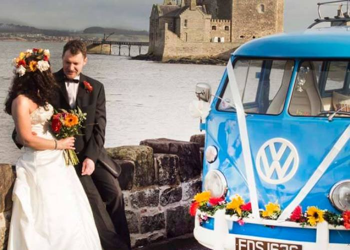 central Scotland Wedding Transport