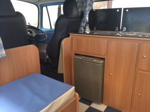 Oor Wullie the Vintage VW Camper interior