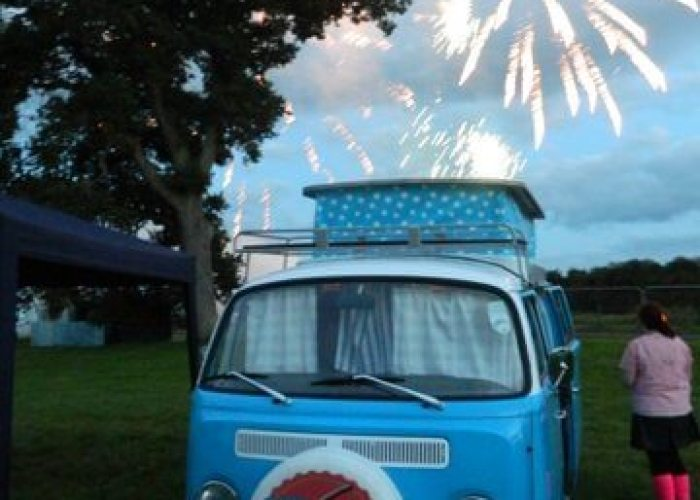 Rewind festival fireworks