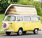 Tour Scotland in Blondie Vintage VW Camper