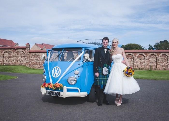 Edinburgh VW Wedding Car