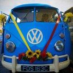 Meg VW Camper Wedding Car