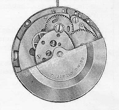 A Schild AS 2086 watch movements