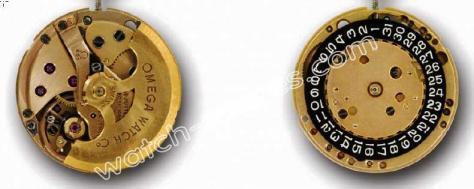 Omega 681 watch movements
