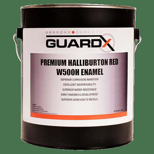 Premium Halliburton Red W500H Enamel_Front